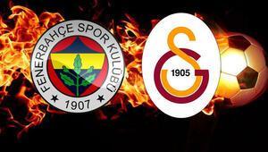 Hürriyette Fenerbahçe - Galatasaray derbisi şöleni