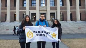 Genç delegeler Türkiye'yi temsil etti
