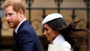 Hayalleri paramparça oldu: Prens Harry ile Meghan Marklea Kraliçe Elizabethten yasak geldi
