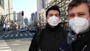 25 milyonluk Şangayda sokaklar boş Türk öğrenci anlattı: Alışveriş için gidilen dükkanlarda bile ateş ölçülüyor