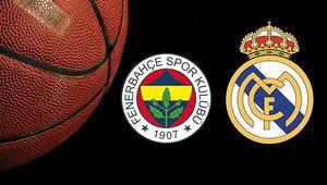 Fenerbahçe Beko Real Madrid maçı ne zaman saat kaçta ve hangi kanalda