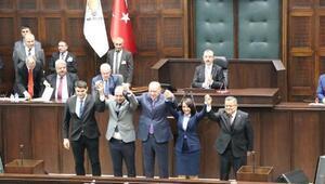 Bilecikte bağımsız belediye başkanları Ak Parti'ye katıldı