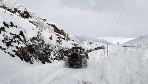 Siirtte 15 köy yolu ulaşıma kapandı