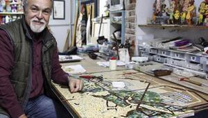 İstanbulu mozaikle dünyaya tanıtacak