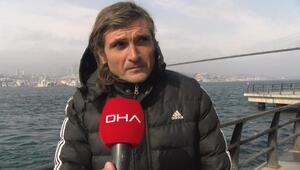 Üsküdarda denizde boğulmak üzere olan kadını kurtaran kişi konuştu