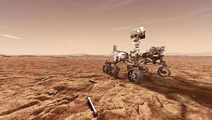 Marsta devasa bir hortum görüntülendi