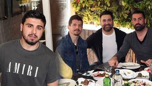 Emre Belözoğlu ve Ozan Tufandan Galatasaray maçı açıklaması Fenerbahçe...