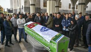 Eski milli futbolcu Mustafa Yücedağ toprağa verildi
