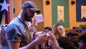 Bursa BŞB Erkek Voleybol Takımı öğrencilerle buluştu