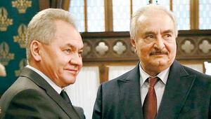 Rusya Hafter'i Moskova'da ağırladı