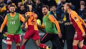 Sadece 18 dakika Kadıköydeki son 20 maçta Galatasaray...