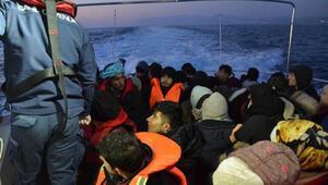 Balıkesirde 47 kaçak göçmen yakalandı