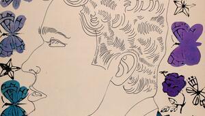 Warhol'un tutkulu çizimleri ilk kez sergilenecek