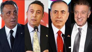 Süper Ligin 4 büyük kulüp başkanı bir araya geliyor