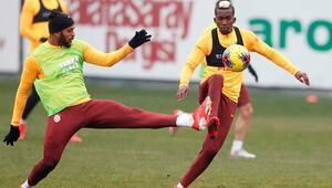 Galatasarayda derbi mesaisi sürüyor
