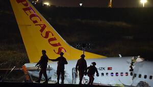 Bakanlıktan Sabiha Gökçendeki uçak kazasına ilişkin açıklama