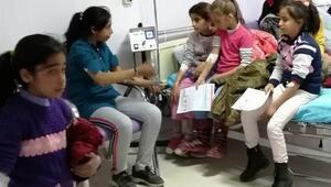 Adıyamanda 58 öğrenci hastanelik oldu