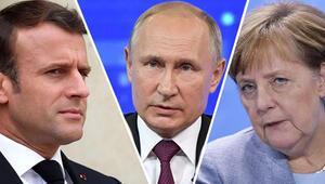 Son dakika haberi: Merkel ve Macrondan Putine İdlib çağrısı: Derhal son bulsun