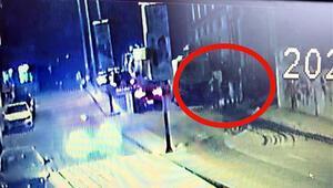 Gasptan sonra kaçmaya çalışan 5 şüpheli kaza yapınca yakalandı
