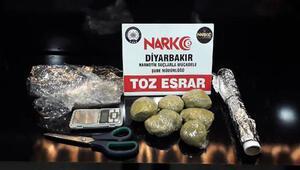 Diyarbakırda 101 kilo esrar ele geçirildi; 19 kişi tutuklandı