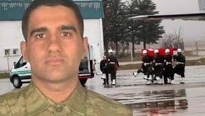 İdlib şehidi Mustafa Ertürkün cenazesi Gaziantepe getirildi