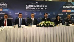 İstanbul'da Kentsel Dönüşüm Zirvesi başladı
