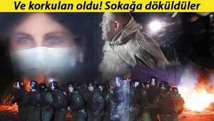 Son dakika haberi: Ukraynada koronavirüs ayaklanması: Barikat kurup, taş yağmuruna tuttular