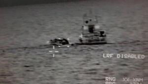 Egede bir düzensiz göçmen botu yakalandı