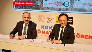 Konyaray Banliyö Hattının protokolü imzalandı