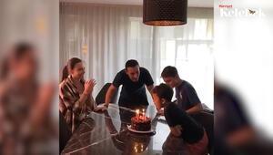 Mustafa Sandal ve eski eşi oğullarının doğum gününü kutladı