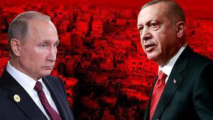 Son dakika... Cumhurbaşkanı Erdoğan ile Putinden çok kritik İdlib görüşmesi