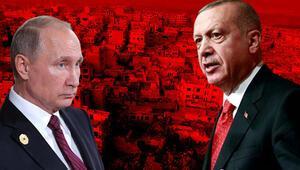 Son dakika... Cumhurbaşkanı Erdoğan ile Putinden İdlib görüşmesi