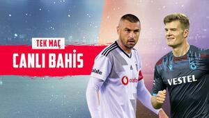 Dolmabahçede dev randevu Beşiktaş - Trabzonspor maçına banko iddaa tercihi...