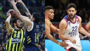 Fenerbahçe Beko ağır kaybetti Anadolu Efes rahat kazandı...