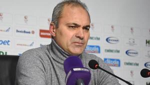 Erzurumspor Teknik Direktörü Erkan Sözeri: Hak eden kazandı