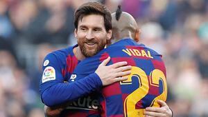 Camp Nouda Messi şov 5 gol...