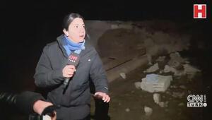CNN TÜRK canlı yayını sırasında korkutan deprem Saniye saniye kaydedildi