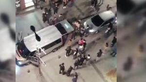Burası İstanbul Asker konvoyunda yol kapatıp ateş açtılar