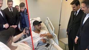 Erdoğan, Hanau mağduru Muhammet'e görüntülü bağlandı