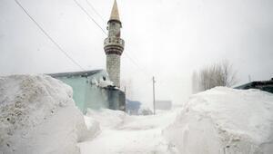 Aras Dağlarındaki köylerde zorlu yaşam