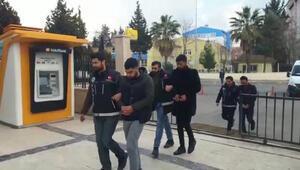 Şanlıurfa'da uyuşturucuya 4 tutuklama