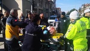 Bucakta kaza: 1 yaralı