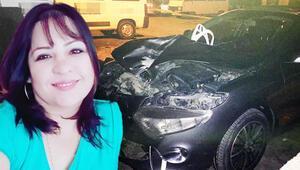 Talihsiz kadının feci ölümü Otomobilin ön camından girdi...