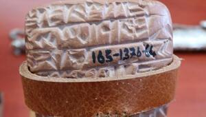 Kayseride kazılarda bulunan kil tabletler, 4 bin yıl öncesine ışık tutuyor