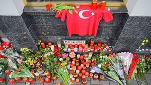 Hanau kurbanları için cenaze töreni
