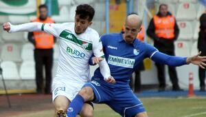 Bursaspor kritik virajda yara aldı
