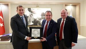 Slovenya Büyükelçisinden Böceke ziyaret