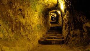 Yerin 20 metre altındaki gizem Kapadokya'da bir evin altından çıktı...