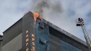 Kızılay'daki yangın korkuttu