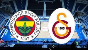 Basketbol Süper Liginde derbi heyecanı Fenerbahçenin konuğu Galatasaray...